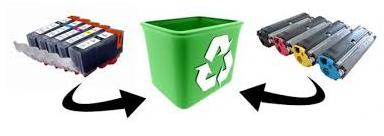 Aumenta al doble el reciclado de cartuchos de impresora en España