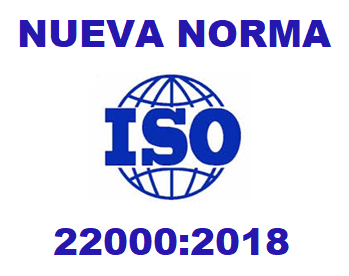 Publicada la nueva norma ISO 22000:2018 de Seguridad Alimentaria